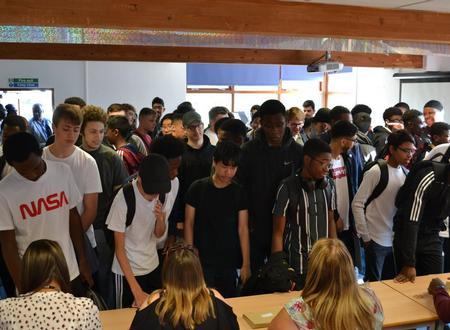 Students Celebrate at Woolwich Poly
